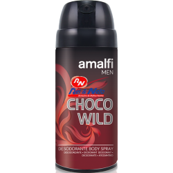Deo Spray Amalfi 210 cc Choco Wild