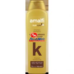 Champo Amalfi 750 ml Keratina Cabelos Danificados
