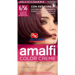 Tinta para Cabelo Amalfi Louro Vermelho Romã Refª 6/56