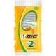 Maquina de Barbear Bic 2 Sensitive pack c/ 5 unds.