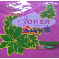 Guardanapo Joker P.P.P. Cor de Rosa 40x40 Cx de 24 Maços
