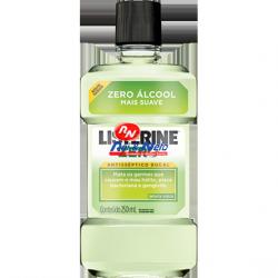 Elixir Listerine Zero Alcool Menta Suave 250 ml