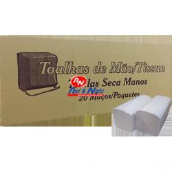 Toalha de Mão Fapajal 23x22 2 Fls. c/ 2900 unds