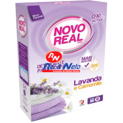 Detergente Roupa Pó Novo Real 30 D Lavanda e Camomila