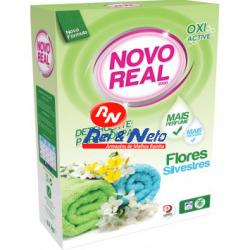 Detergente Roupa Pó Novo Real 30 D Flores Silvestres