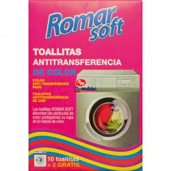 Toalhitas Romar Anti-Transferência 10+2 Unds.