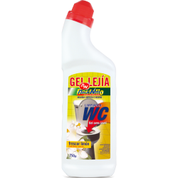 Detergente Gel com Lixivia WC Destello 750 ml Frescor Limão