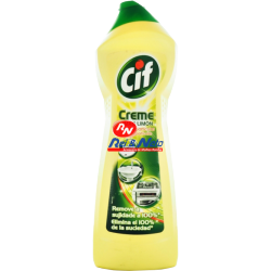 Creme de Limpeza Cif 750 ml Limão