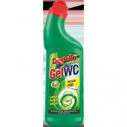 Detergente Gel WC Destello 750 ml 3 em 1 Pinho