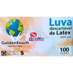 Luvas Latex Confort Medicinal sem Pó c/ 100 Unds.