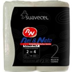 Rolo Cozinha Suavecel Compact  Pack c/ 2 rolos x20 embalagens (2 igual 4)