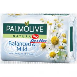 Sabonete Palmolive 90 Gr Balanced & Mild c/ Camomila e Vitamina E (Duzia)