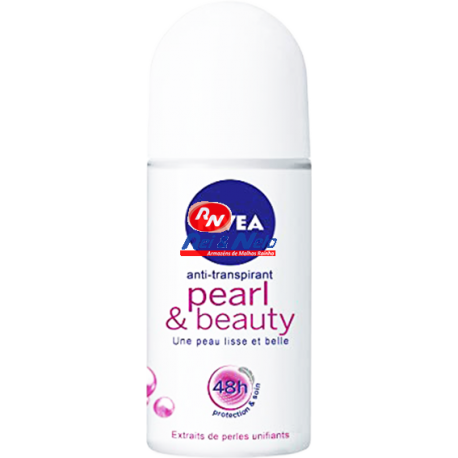 Deo Roll-on Nivea Pearl Beauty 0% Alcohol Woman 50 ml