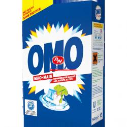 Detergente Roupa em Pó Omo Mão E3 com 540 grs