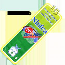 Saco Lixo 520x600 cm 30 lts Fecho Fácil Perfumado Rolos com 15 Sacos