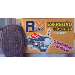 Esfregão com Detergente RM Lar 6 unds