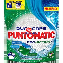 Detergente Roupa Cápsulas Puntomatic 12 unds Pró Action