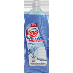 Detergente Roupa Liquido Romar Frescor Total 1500 ml Roupa Branca
