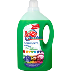 Detergente Roupa Liquido Romar Aroma Natural 3000 ml