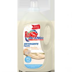 Detergente Roupa Liquido Romar Sabão Marselha 3000 ml