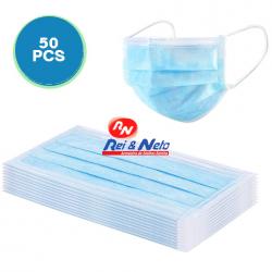 Mascara PP protecção cirúrgica c/ 3 capas c/ elástico Tipo I