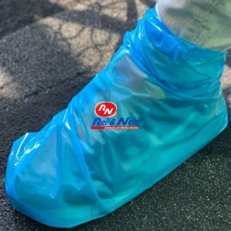 Cobre Sapatos descartáveis Estanque em Polietileno Azul