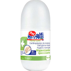 Desinfectante de mãos Amalfi c/ álcool 70 ml Roll-on