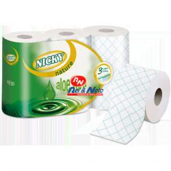 Papel Higiénico Nicky Natur Aloevera 7x6 rolos