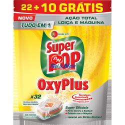 Lava Loiça Super Pop Oxiplus 22+10 Cápsulas