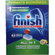Detergente Máquina Loiça Finish Pastilhas All in 1 Limão 63 doses