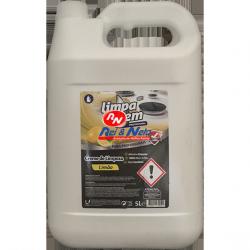 Creme de limpeza Limpa Bem 5 lts WC Limão