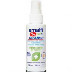 Desinfectante de mãos Amalfi c/ álcool gel 60 ml em spray