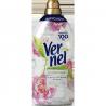 Amaciador Roupa Concentrado Vernel 54+3 Doses Chá branco e Peonia 1,311 Lts.