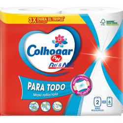 Rolo cozinha Colhogar Para Tudo (Multiusos) c/ 2x12 rolos