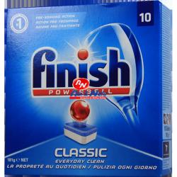 Detergente Máquina Loiça Finish all in one Classic 10 doses