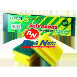 Esfregão Salva Unhas Sayma 5 unds. Refª 857