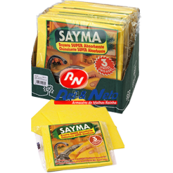 Pano Amarelo Sayma 36x40 cm 3 Unds Refª 70