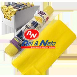 Pano Amarelo Multiusos Pré cortado em Rolo Sayma 2  Mts. Refª 803