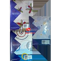 Jogo Cama Casal Serie Silver Refª 227 Algodão Polyester