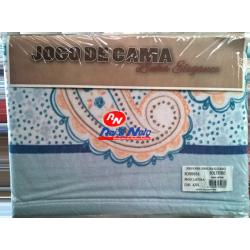 Jogo Cama Solteiro Coralina Elegance Latina 100% Polyester