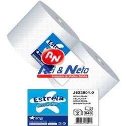 Rolo Industrial Estrela Amoos 2 Fls.  848 Serv. 280 mts Rolo