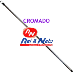Cabo Cromado 130 Cm x 0,34 Mm Refª 023C