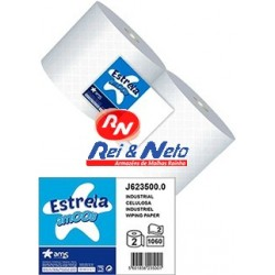 Rolo Industrial Estrela Amoos 2 Fls.  1060 Serv. 350 mts Rolo