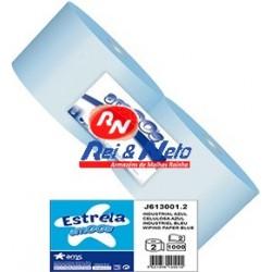 Rolo Industrial Azul Amoos 2 Fls.  1000 Serv. 300 mts Rolo