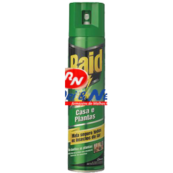 Inseticida Raid Spray Casa e Plantas 600 ml
