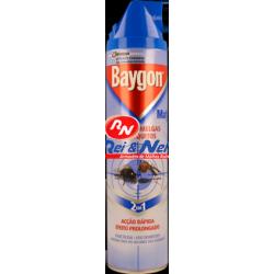 Inseticida Baygon Mafu Spray Rápido Moscas e Mosquitos 400 ml