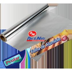 Folha Alumínio Alimentar Prolar 30 Mts.