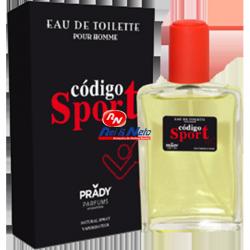 Perfume EDT Código Sport para Homem 100 ml