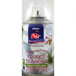 Ambientador Recarga Romar Flores Brancas 335 CC