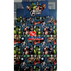 Jogo Cama Polar Disney Vingadores Solteiro 180x250 cm 100% Polyester
